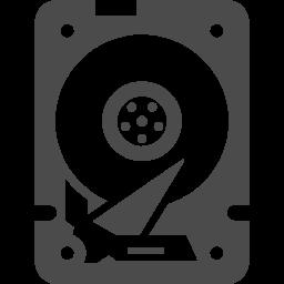 パソコンのhddドライブの無料アイコン素材 2