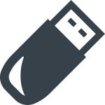 データ漏洩を防ぐ (USB内のデータを完全に消去)